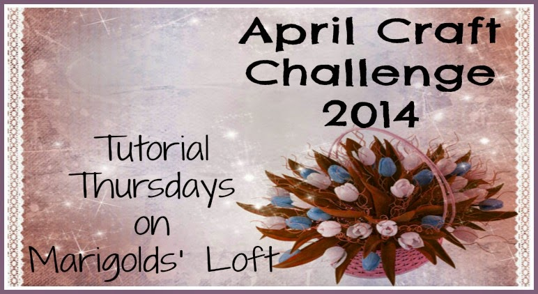 April craft challenge features