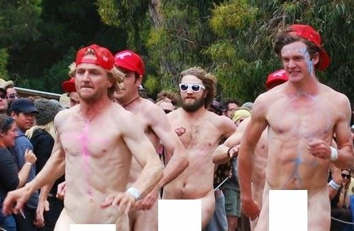 Naked melbourne men