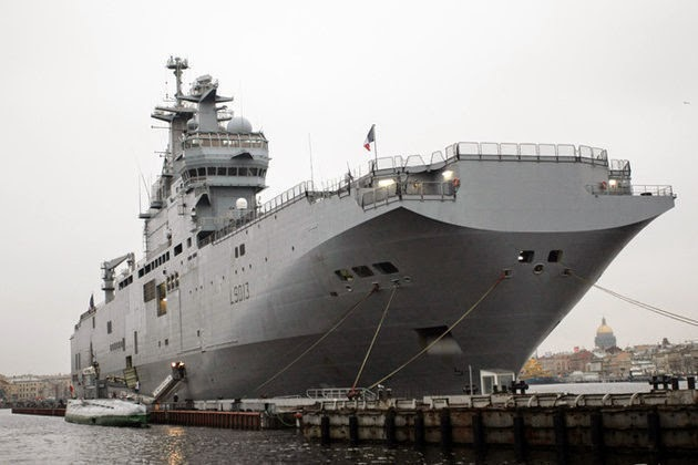 French Mistral Helicopter Carrier