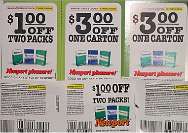 Cigarette Coupons. Are you looking to save money on your next carton of cigarettes or e-cigarettes? CigReviews offers exclusive coupon codes and money saving offers on all the top brands of tobacco and electronic smokes.