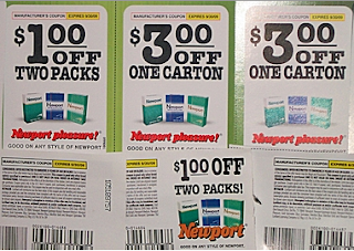 Newport Cigarettes Coupon