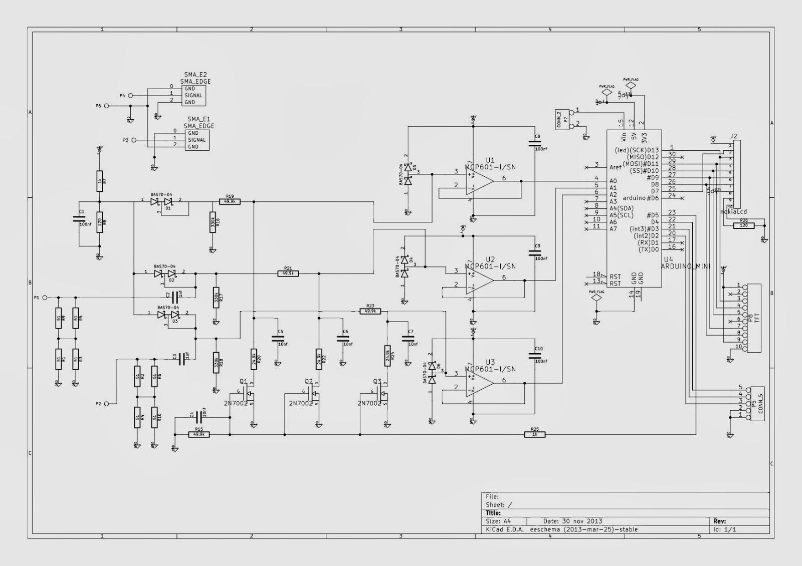 swr    wattmeter with arduino nano video  u0026 code