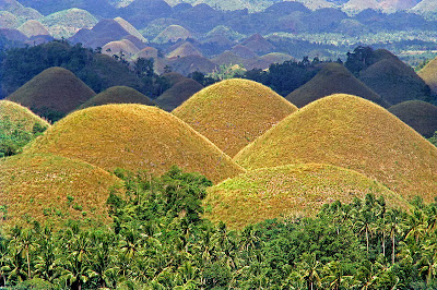 Third National Geological Monument of Bohol Chocolate Hills