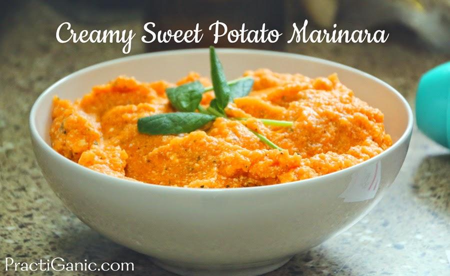 Vegan Sweet Potato Marinara Sauce
