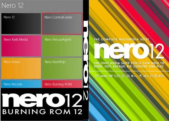 Nero Multimedia Suite 12.0.03500 Platinum Retail Nero 12 Front Cover 71079