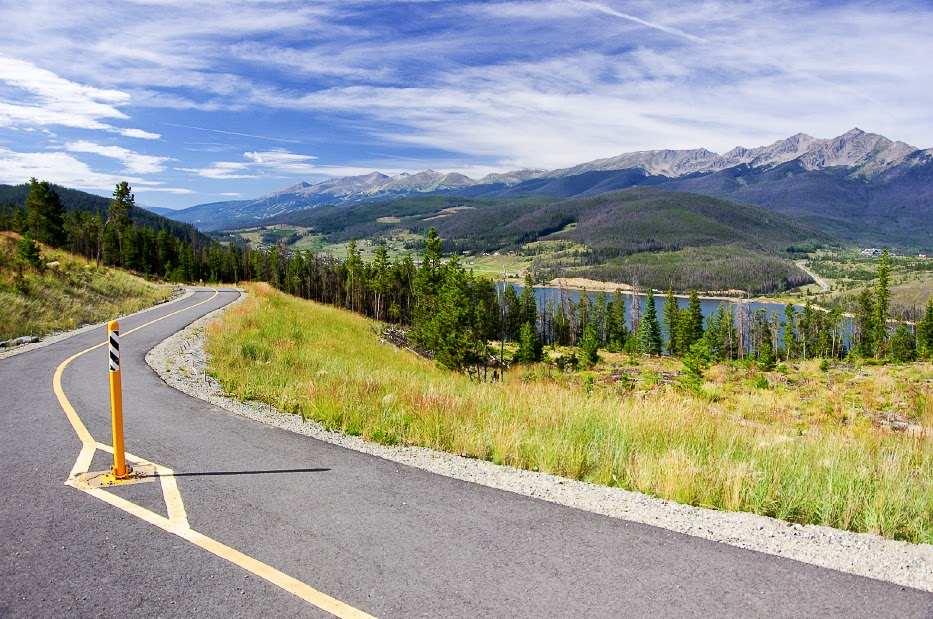 Swan Mountain bike path. Photo by Karen Rakestraw