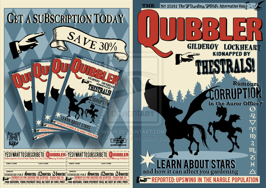 Influential image with printable quibbler