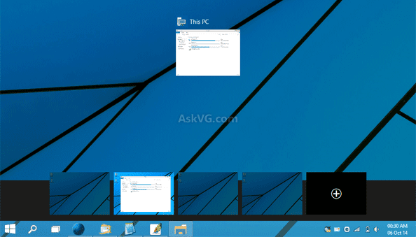 Virtual atau Multi Desktop