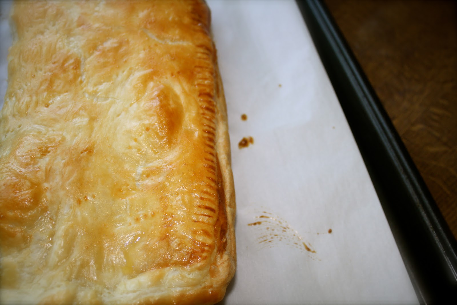 Ham & Cheese Puff Pastry Pie | Gastronomically Imbalanced