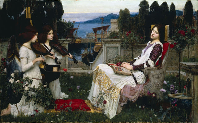 saint cecilia Waterhouse