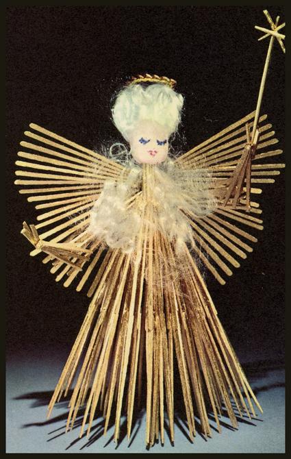 Vintage Pattern Marketplace Vintage Toothpick Angel
