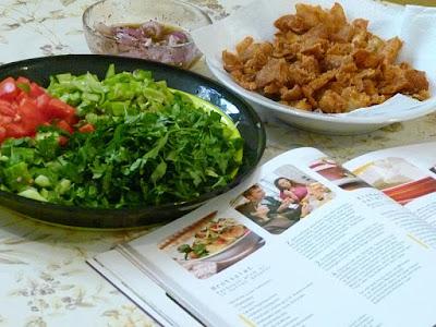 Fattoush -Brotsalat Ägyptische Rezepte Fattusch Fatousch