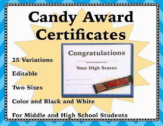 https://www.teacherspayteachers.com/Product/End-of-Year-Candy-Award-Certificates-Middle-and-High-School-1847810