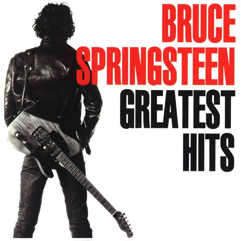 Bruce Springsteen Greatest Hits CD Capa