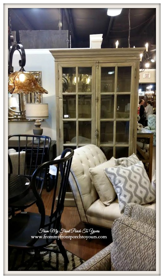 Laurie's Home Furnishings-Famrhouse China Cabinet- From My Front Porch To Yours