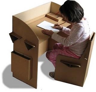 Coolhunting 0b tendencia eco moda for Muebles de carton precios