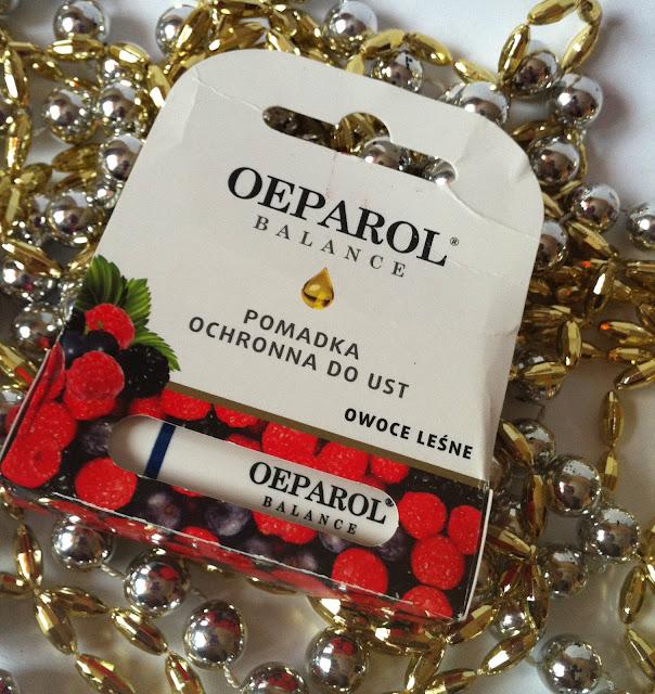 OEPAROL BALANCE - pomadka ochronna do ust, owoce leśne.