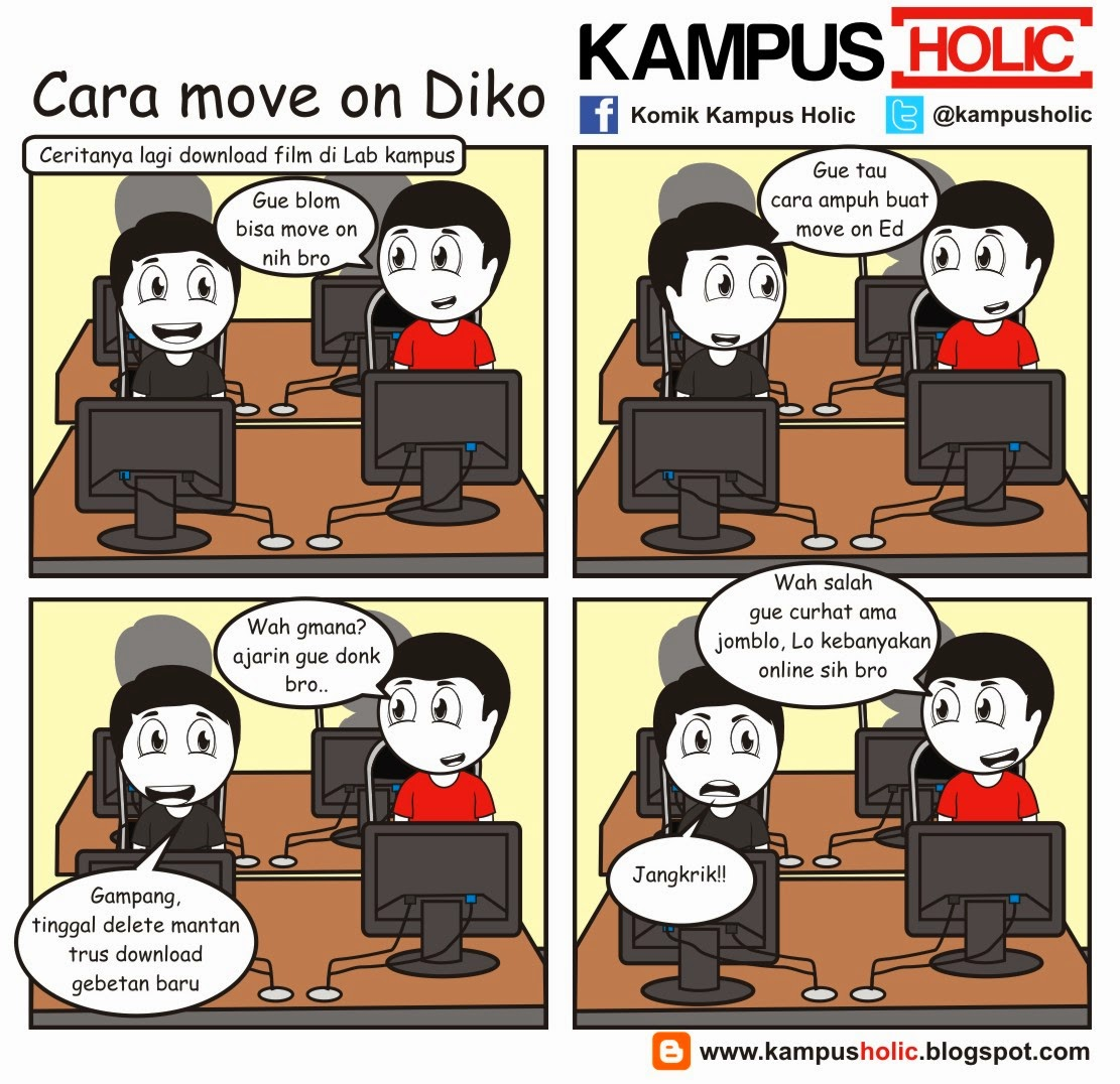 #469 Cara move on Diko