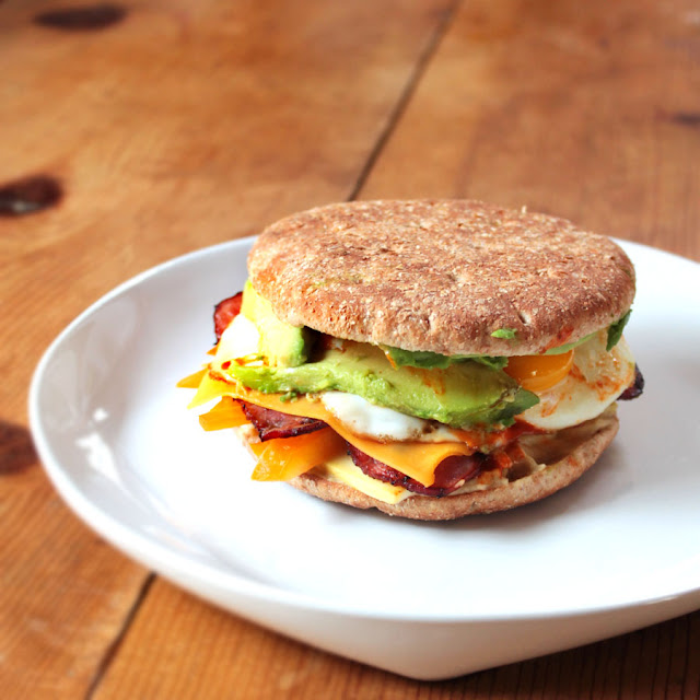 Low-Calorie Breakfast Sandwich