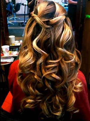 ondas mechas localizadas peinados