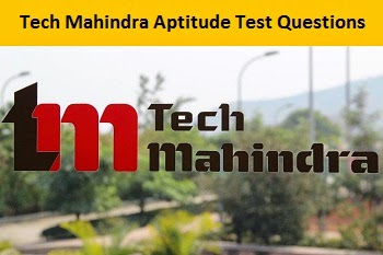 Tech Mahindra Aptitude Test Questions