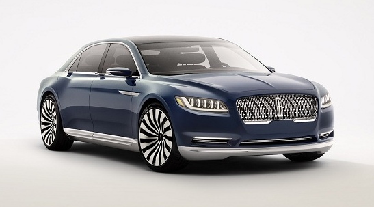 2017 Lincoln Continental Price Specs Concept Release Date