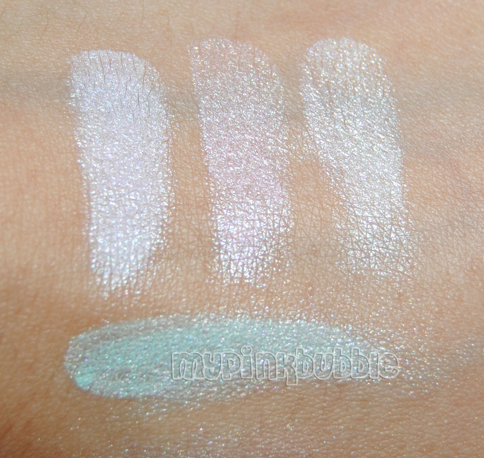 Ten image Dreams Eyeshadow swatch