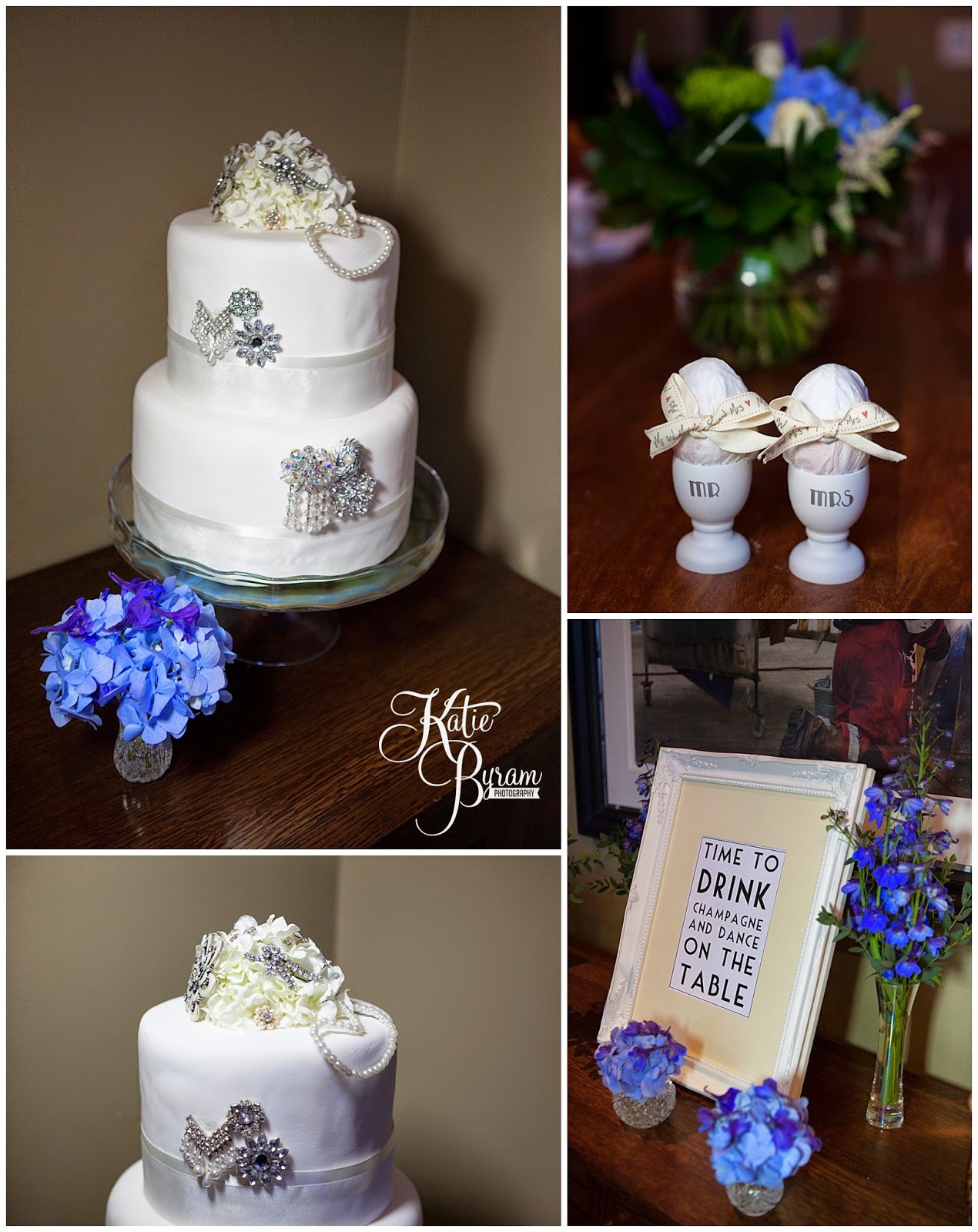 blue wedding flowers, vintage wedding cake, hotel du vin newcastle, hotel du vin wedding, hotel du vin wedding photographs, hotel du vin newcastle wedding photographs, vintage wedding, small wedding, katie byram photography, newcastle wedding venue, city wedding venue