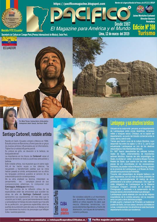 Revista Pacifico N° 398 Turismo