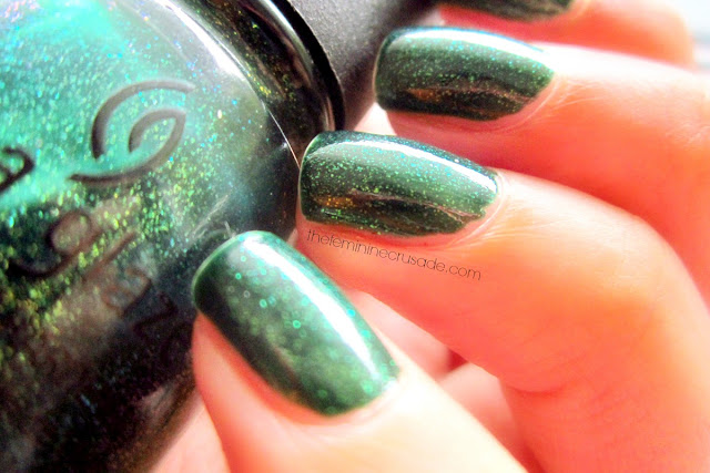 China Glaze Glittering Garland
