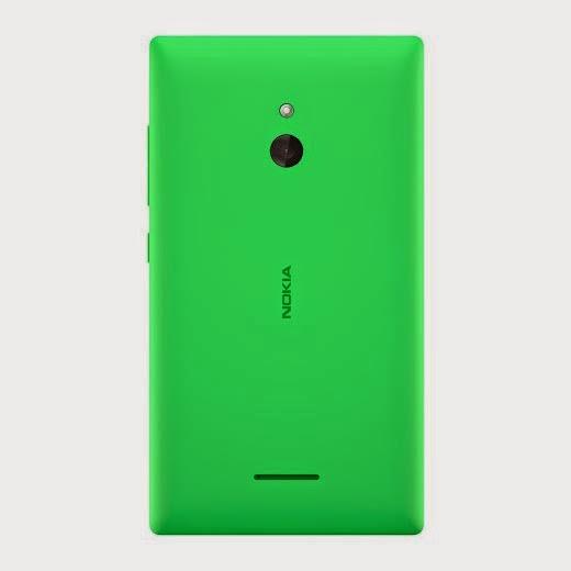 Nokia XL back green color