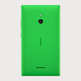 Nokia XL back green color
