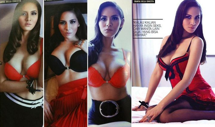 Chantal Della Concetta Memang Hot