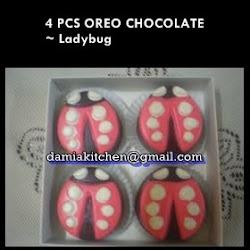 Oreo Coklat- Ladybug