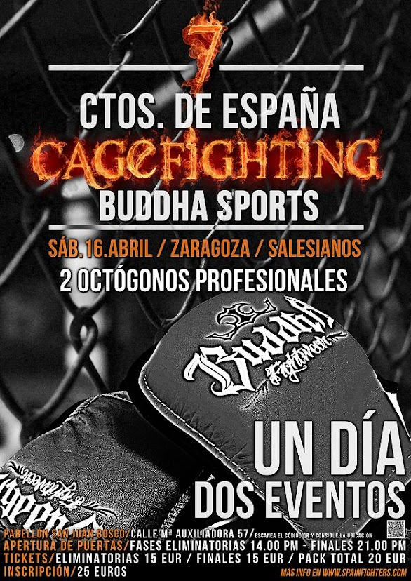 7º CAMPEONATO DE ESPAÑA DE CAGEFIGHTING AMATEUR BUDDHA SPORTS