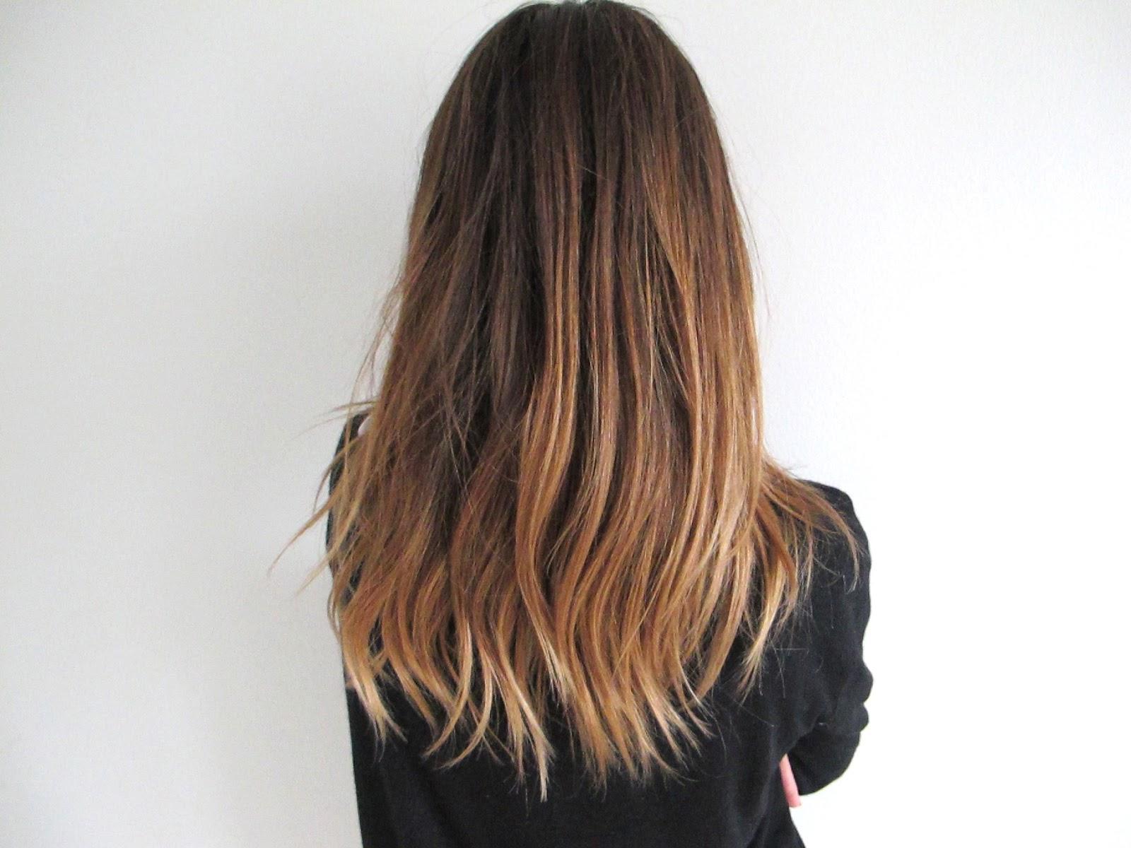 etageklippet hår