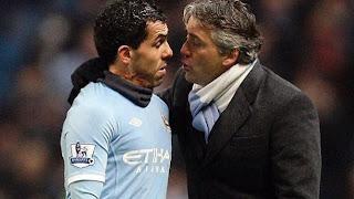 Mancini: «el ciclo de Carlos Tévez está terminado»