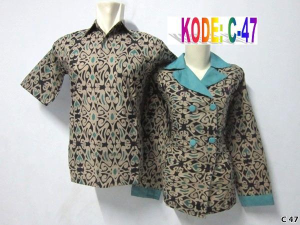 resmi,batik couple saragam,batik pasangan modern,design batik resmi ...