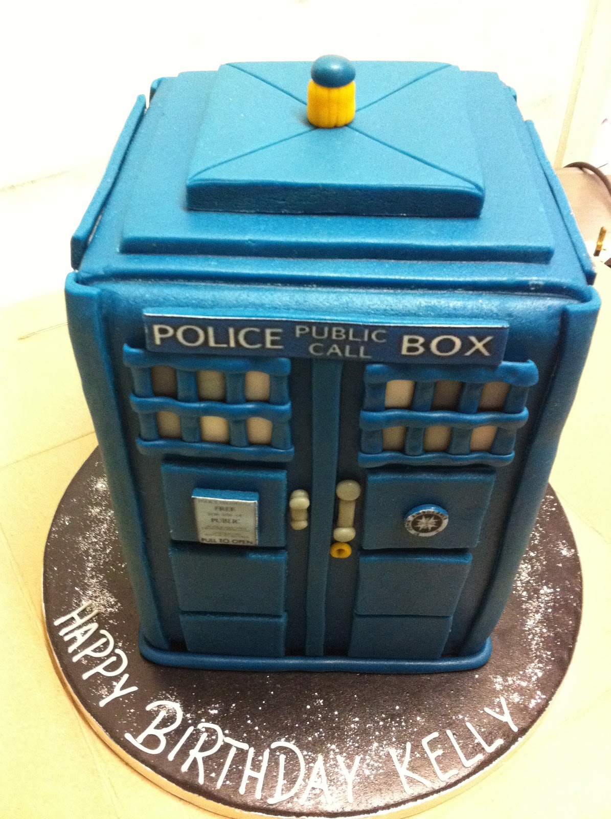 The Family Cake Company Blog: Have you got a Sonic Screwdriver