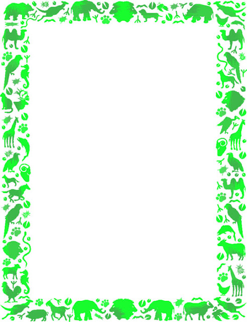 Marcos verdes para fotos - Imagui