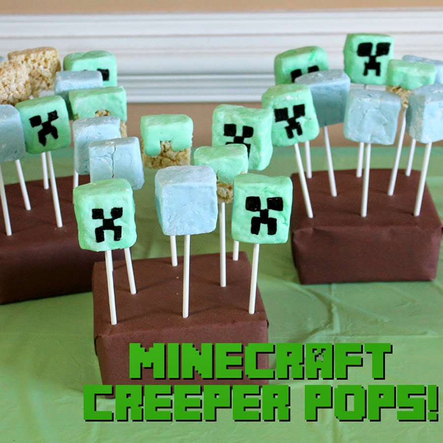 Doodlecraft minecraft birthday party food minecraft birthday party food solutioingenieria Images