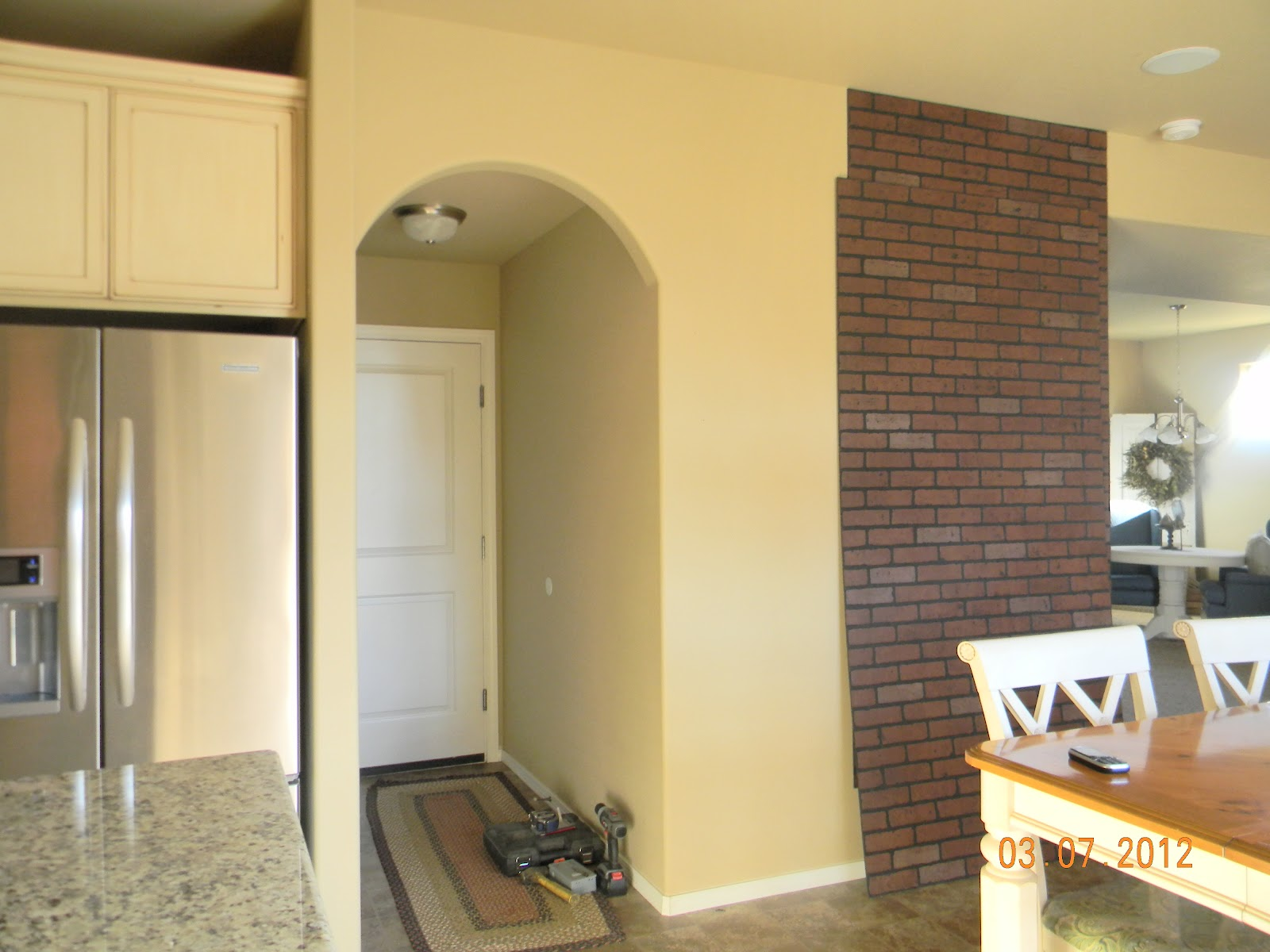Amazing Faux Brick Wall Decor Component - The Wall Art Decorations ...