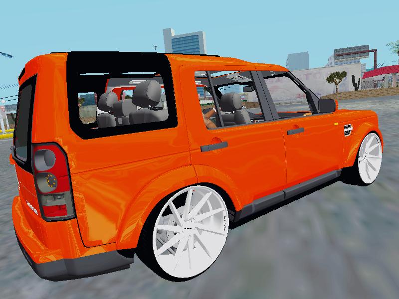 GTA SA - Land Rover Discovery 4 VOSSEN