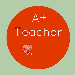 Free A+ Teacher Tag Printable #teachergifts #teacher