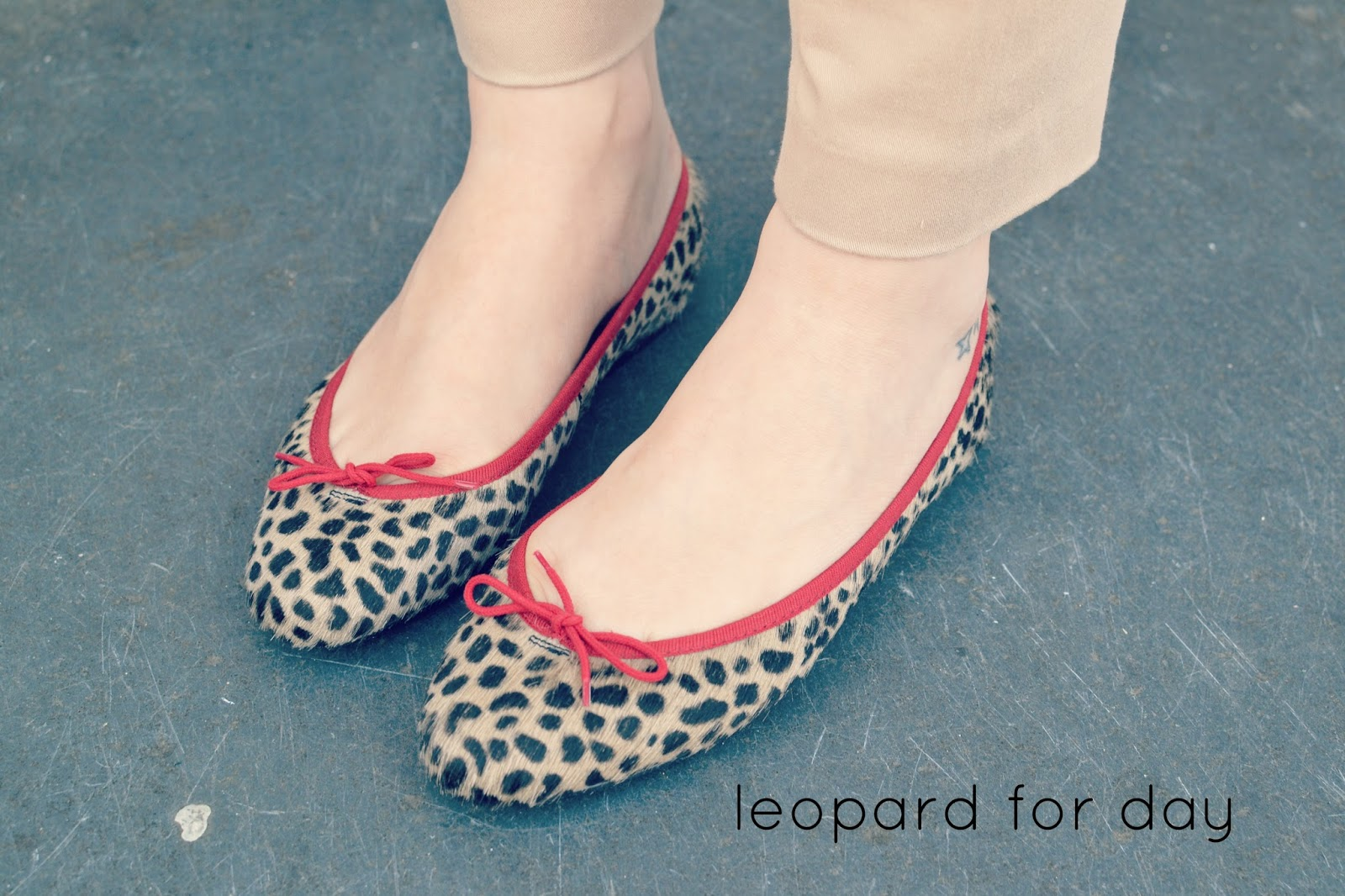 French Sole Leopard Print ballerinas shoes