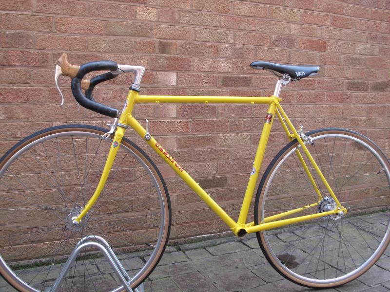 Shropshire Vintage Bicycles: Carlton Hand built 531 tubing bicycle frame