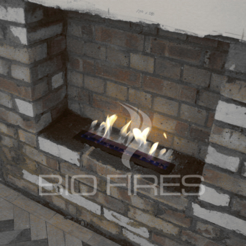 Gel fireplaces bio fires official company blog diy fireplace testing the bio container in a hole in the wall it works solutioingenieria Gallery