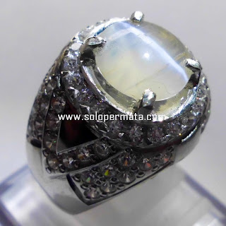 Batu Permata Natural Opal Cat Eye