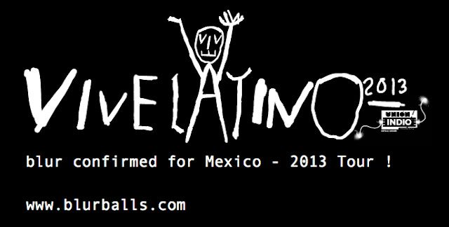 blurmexico2013, blur vive latino 2013, blur tour 2013, blur vive lineup, blur gig