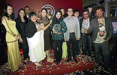 Barisan Peserta MasterChef Selebriti Musim Kedua Tahun 2013